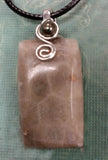 Natural Petoskey Stone Necklace