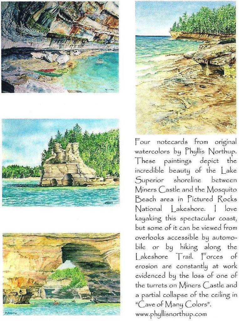 Notecards: Lake Superior Shoreline