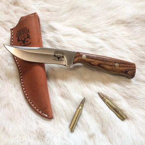 Royal 7 Clip Point Hunting Knife with Cocobolo Handle
