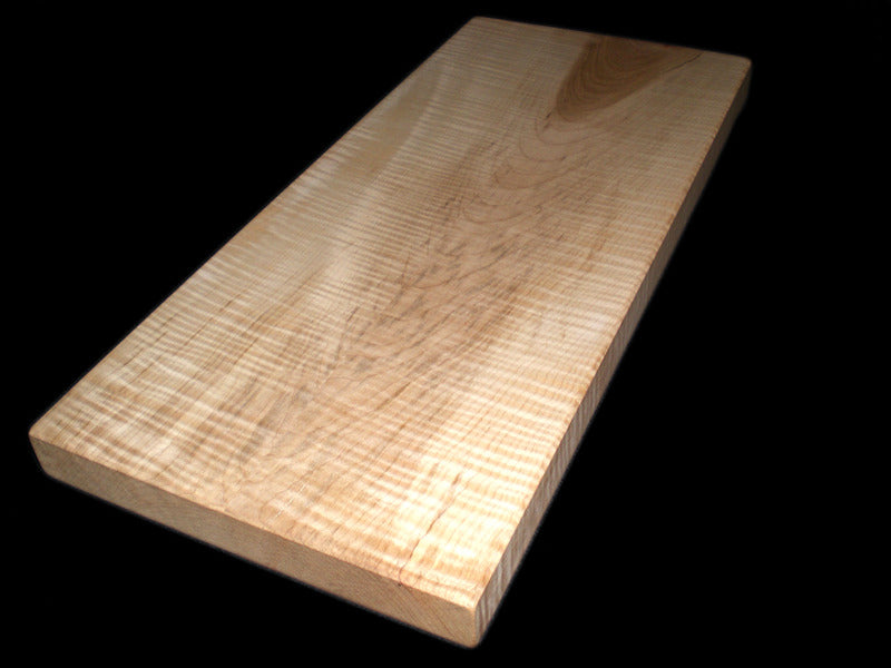 Cutting Board: Large Red Maple-Curly