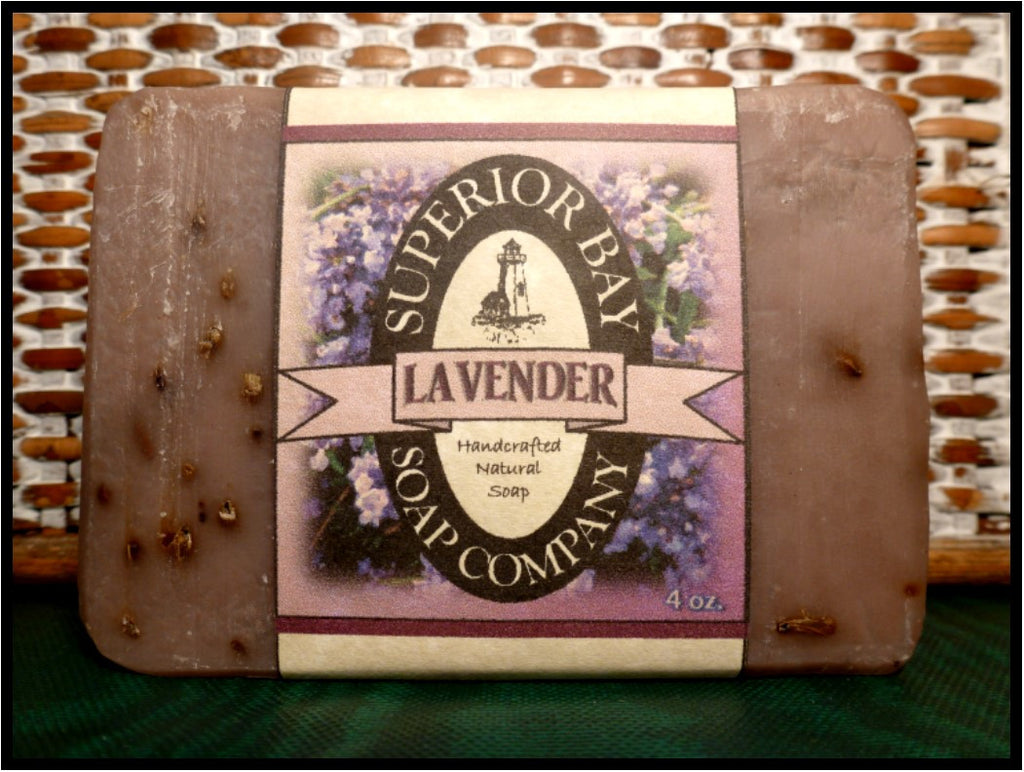 Lavender Herbal Soap