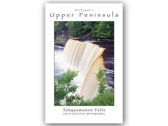 Tahquamenon Falls Poster by Aaron Peterson