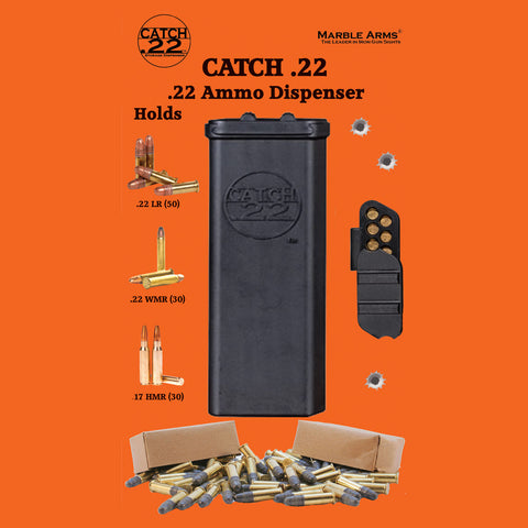 Catch .22 Ammunition Storage Dispenser