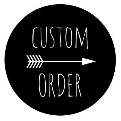 Custom Order-Knock on Wood