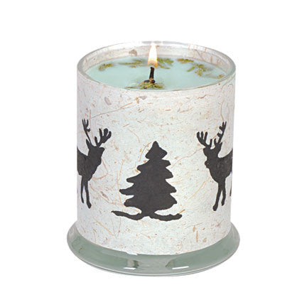 Deer Print Mulberry Soy Candle