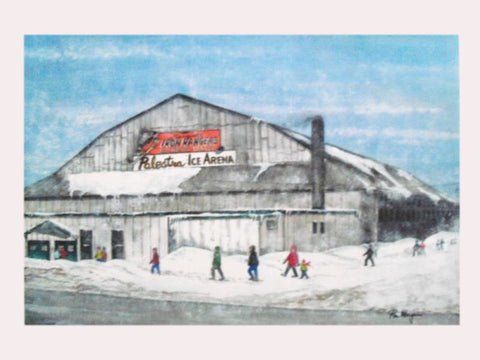 The Old Palestra Ice Rink - Print