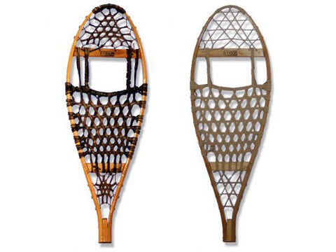 Modified Bearpaw Snowshoes