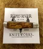 Yooper Trapper - Maple Burl Handle