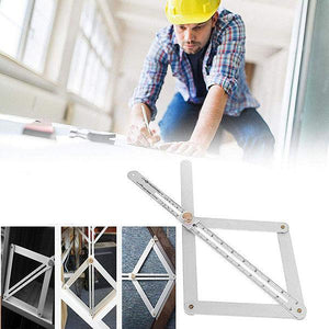 Ceiling Artifact Square Protractor