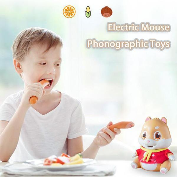 Electric Hamster Phonographic Toy