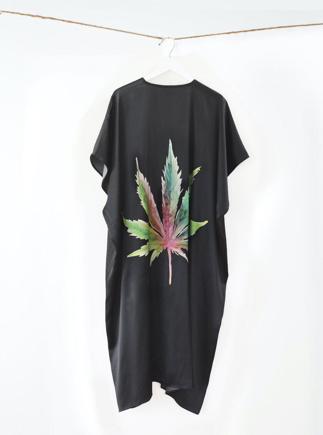 The Mary Jane Black Kimono