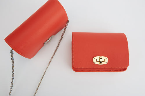 Candy Orange Small Shoulder Bag