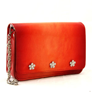 Red Patent Leather Wristlet