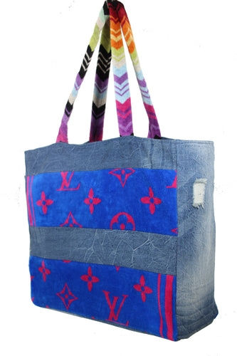 Resort Denim Tote