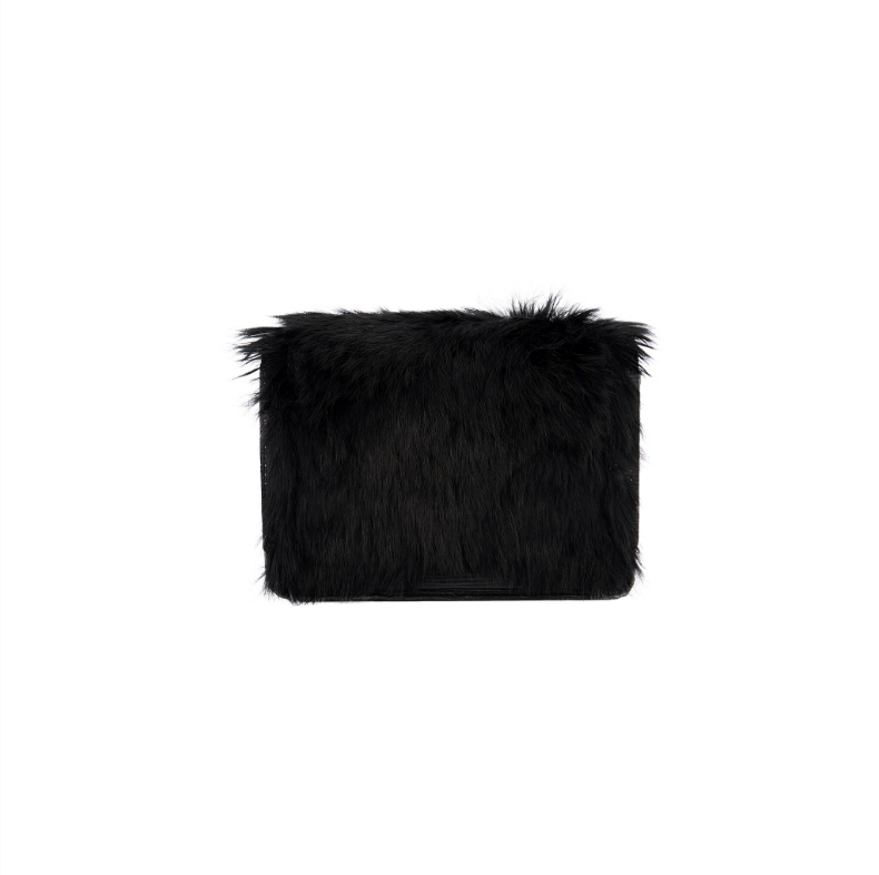 Rabbit Fur Crossbody