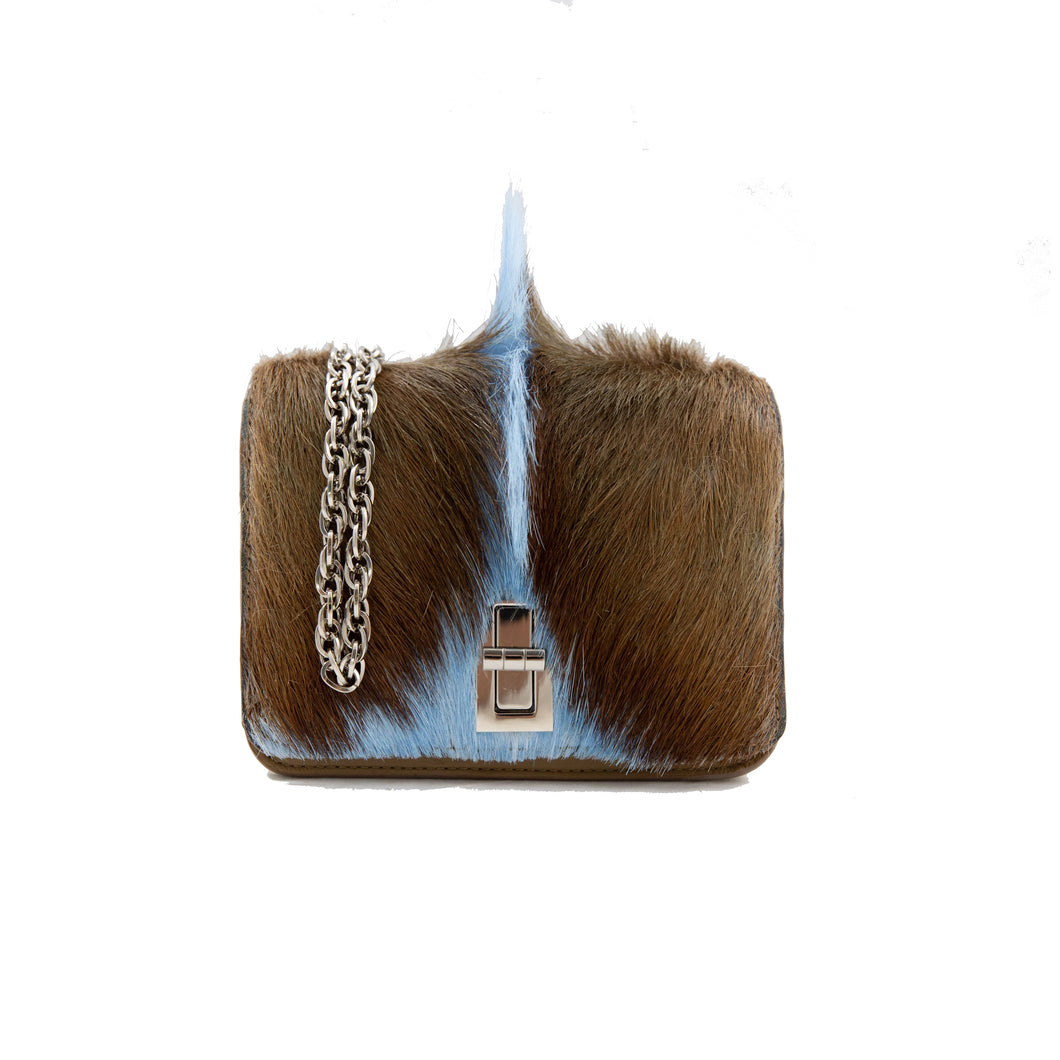 Baby Blue Mohawk Bag