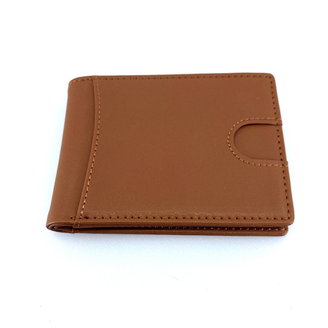 Brown Bi-Fold Wallet