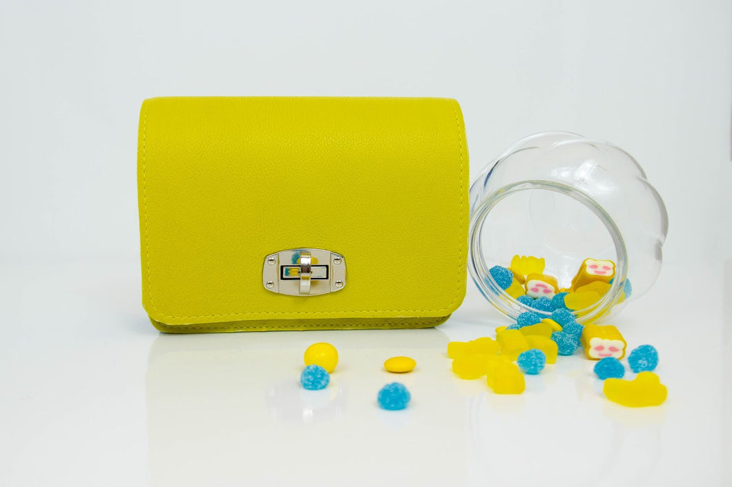 Candy Yellow Small Shoulder Bag