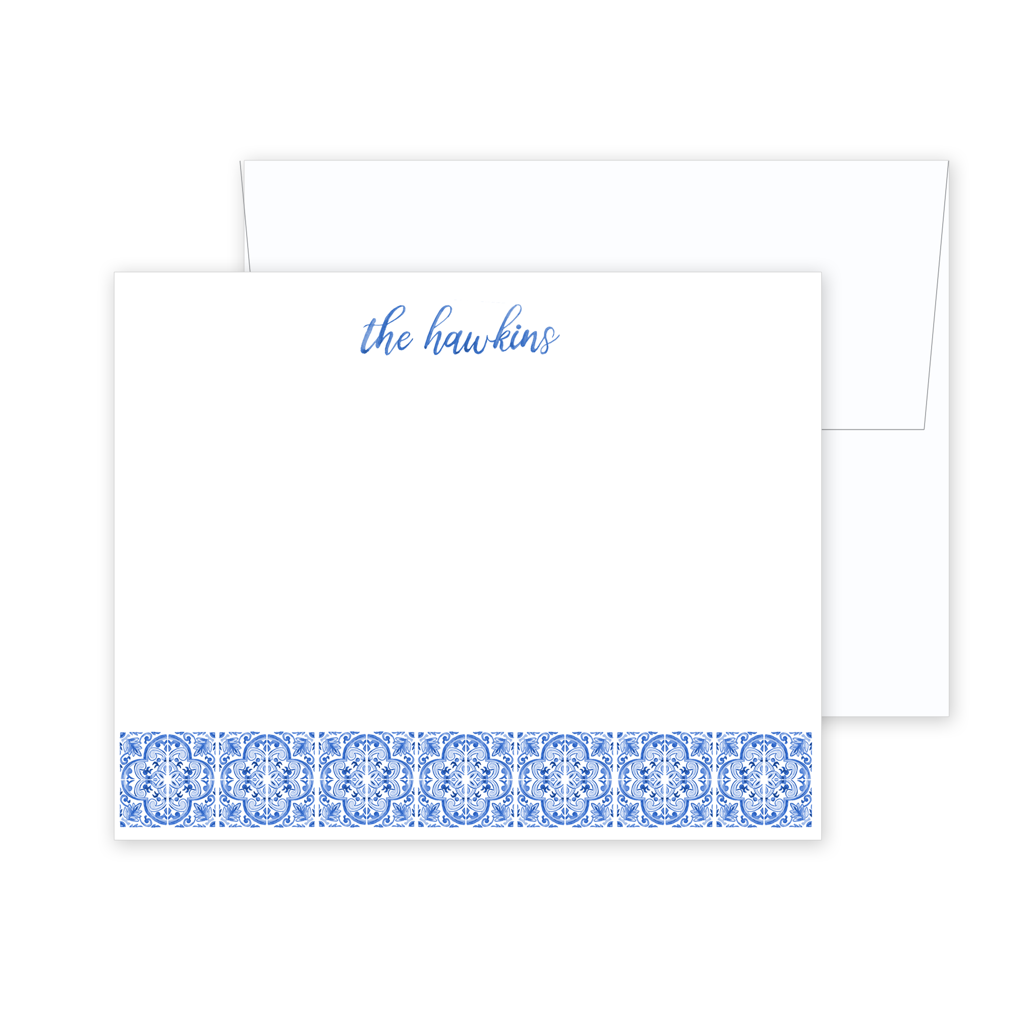 Blue Tile Stationery