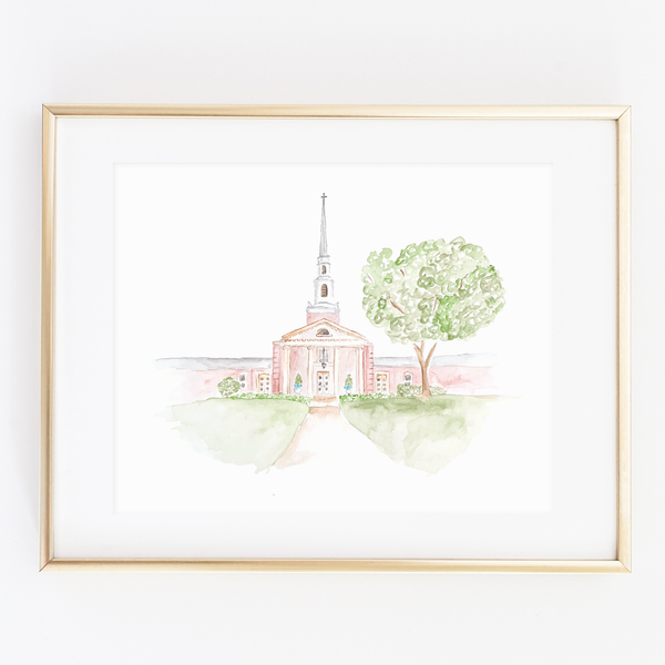 Custom Venue Watercolor