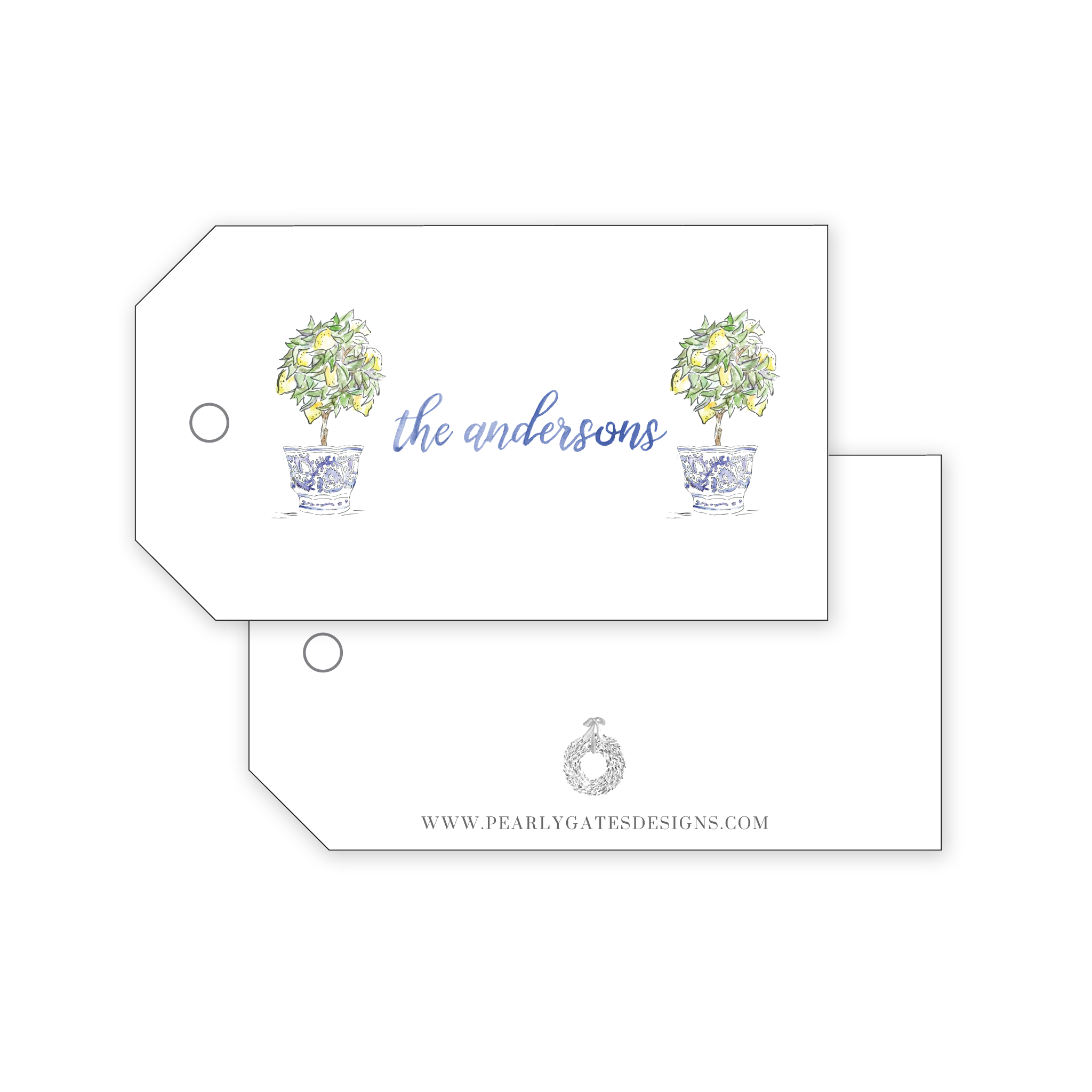 Lemon Tree Gift Tags