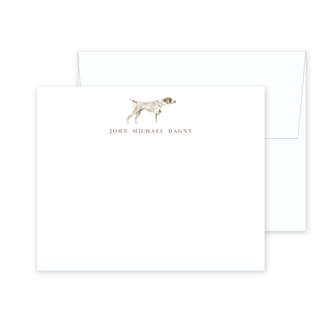 German Shorthair Pointer Stationery