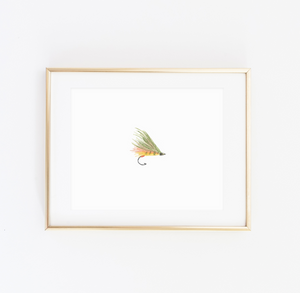 Fly Fishing Art Print