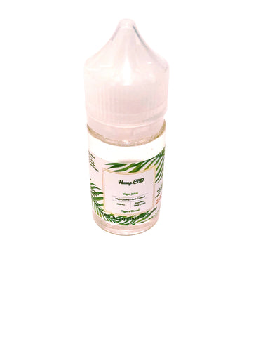 CBD Vape Juice - Tigers Blood