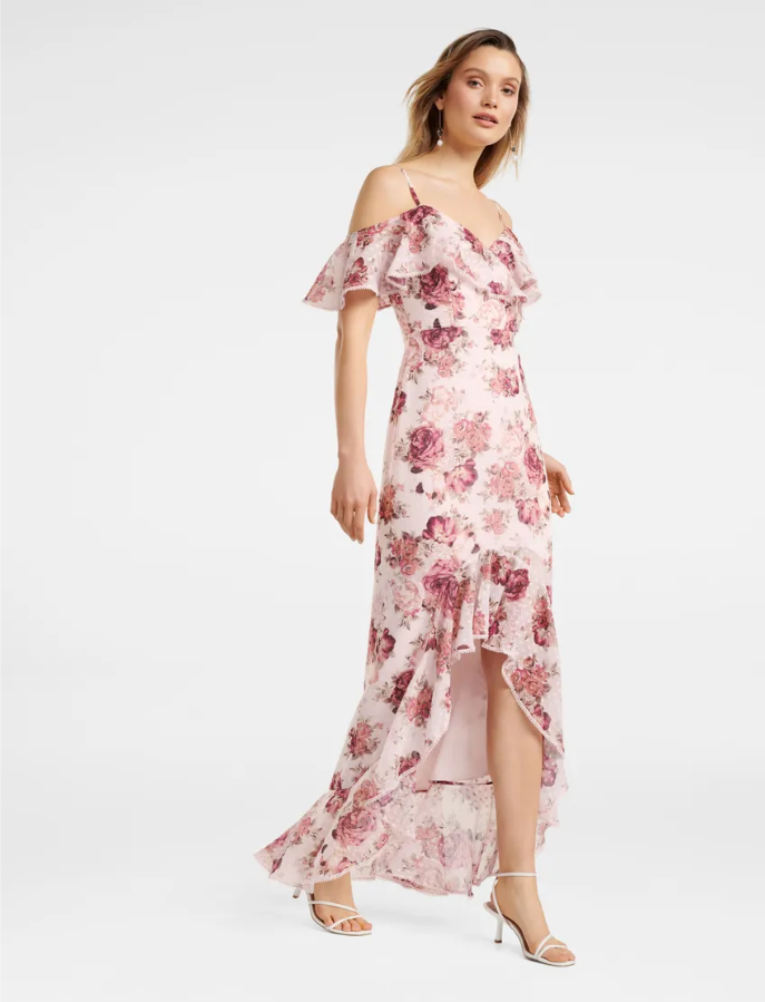 Stacey Off-Shoulder Ruffle