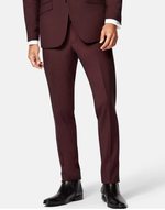 Burgundy Stretch Suit