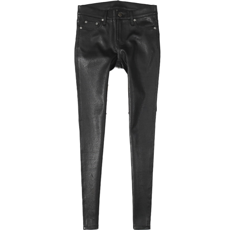 Stretchy Leather Pants