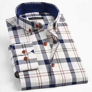 Smart Casual plaid shirt