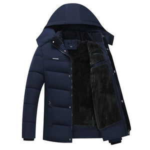 Fleece Down Jacket