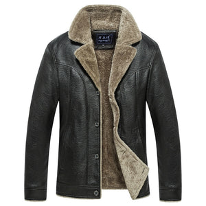 Leather Jacket (smart casual)