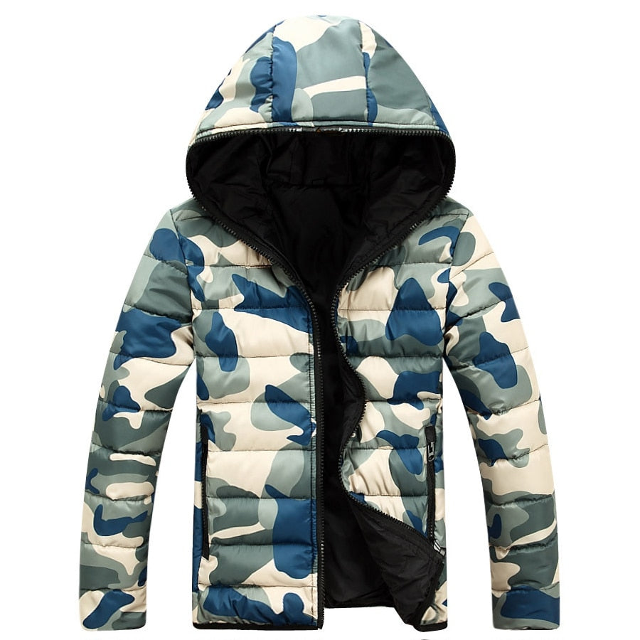 Camouflage Winter Down Jacket