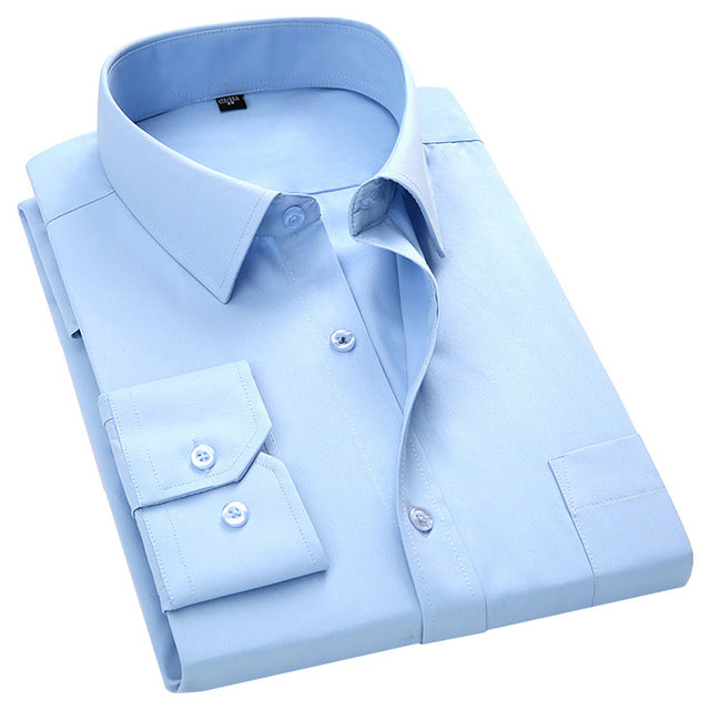 One color, plain shirt
