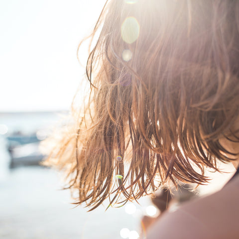 sun and sweat damage hair by making it stiff dull and tangly save me from sun and sweat combats the damage and makes hair flexible shiny and beautiful again