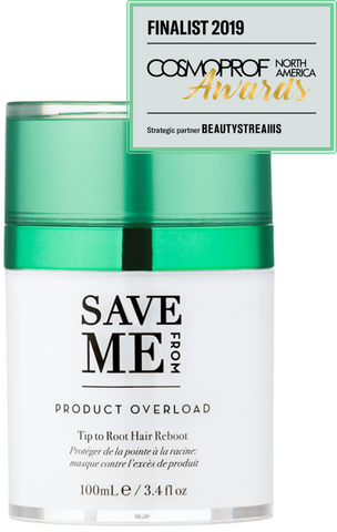 save me from product overload hair mask with cosmoprof awards finalist