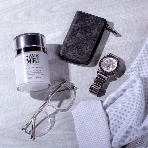 save me from age acceleration. what causes graying hair and aging hair, what causes wiry hair as it ages, ingredients in save me from age acceleration