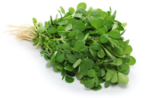 fenugreek leaves in hair care to increase strength, improve shine, and help make hair longer and more beautiful