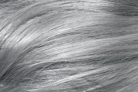 gray hair how to take care of aging hair save me from age acceleration