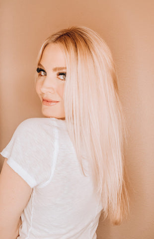 mckenna the bubbly blonde loves save me from thermal obsession to repair hair damage from straighteners blow dryers and other hot tools and gives hair hydration and moisture to improve dry brittle breaking hair