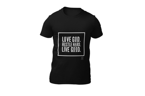 """Love God"" Softstyle T-Shirt with Tear Away Label"