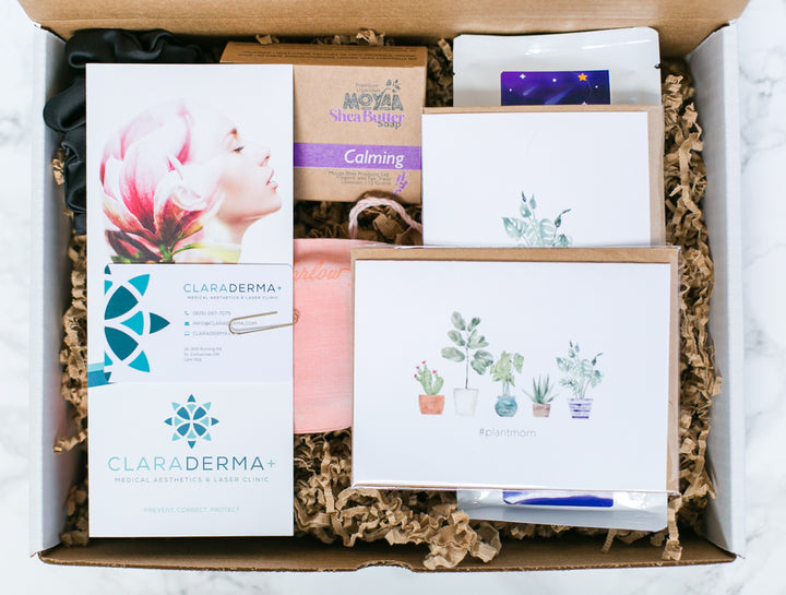 dwell, Spring Box, dwellniagara, The Dwell Journal, Niagara, subscription box