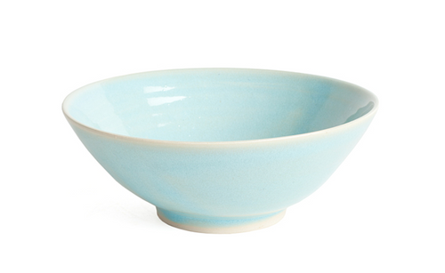 Glazed Oval Serving Bowls