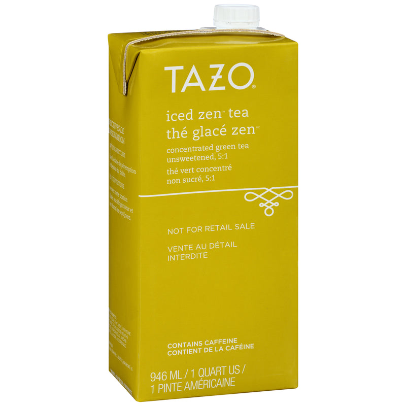 Tazo Iced Tea Concentrate Zen Green 5:1 32 oz Pack of 6