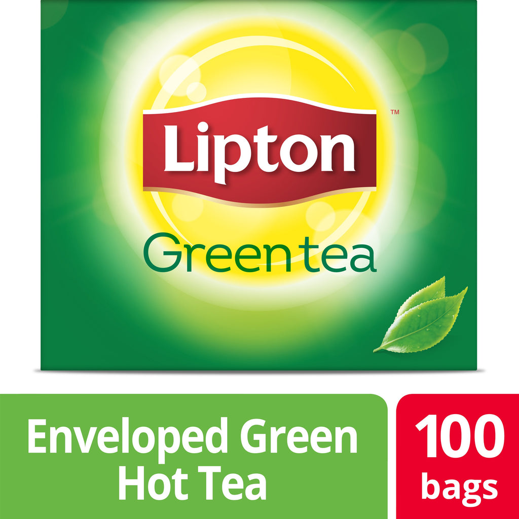 Lipton Green Tea 100 Count, Pack of 5