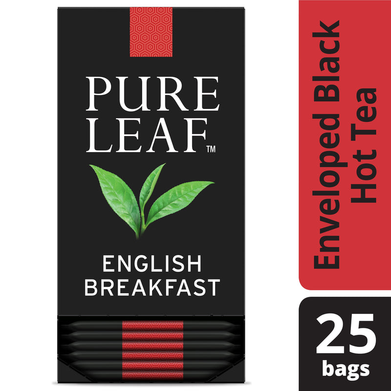 Pure Leaf Hot Tea Bags English Breakfast 25 Count
