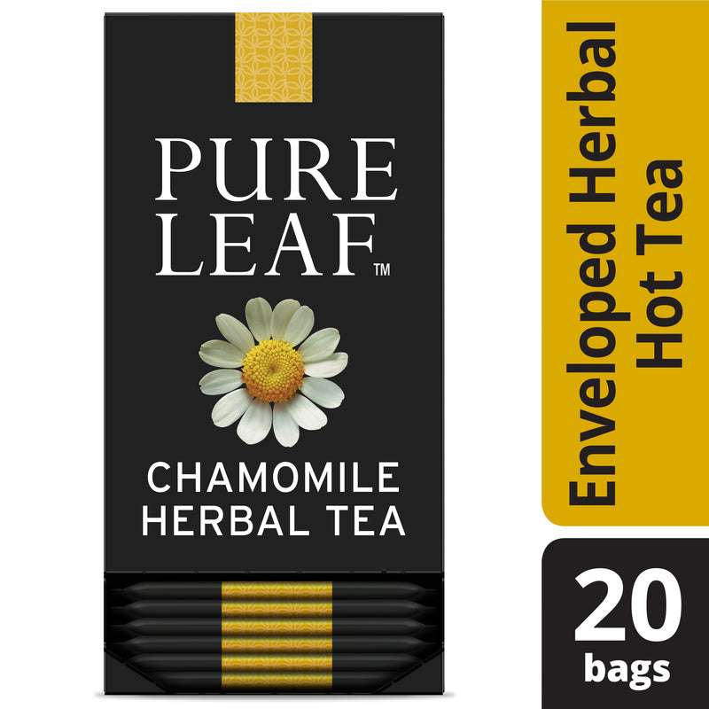 Pure Leaf Hot Tea Bags Chamomile 20 Count, Pack of 6
