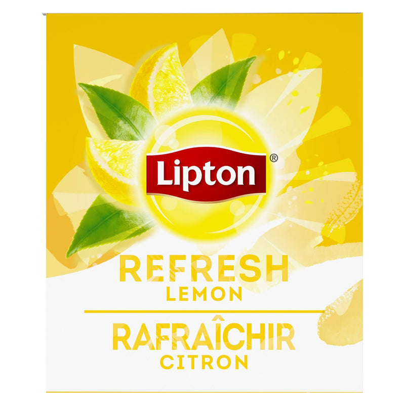 TEMPORARILY OUT OF STOCK Lipton Hot Tea Bags Lemon Herbal 28 Count, Pack of 6